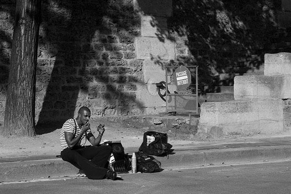 Artiste de rue - Paris