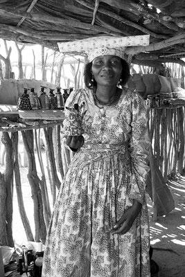 Femme Héréro - Namibie