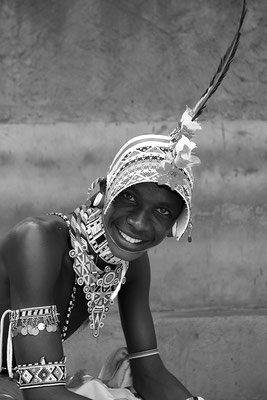 Danseur Samburu - Kenya