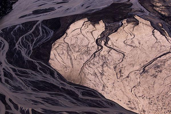 Vues aérienne des sables noirs