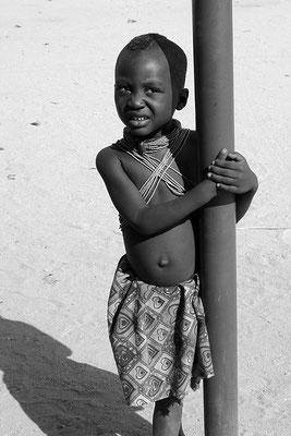 Enfant Himba - Namibie