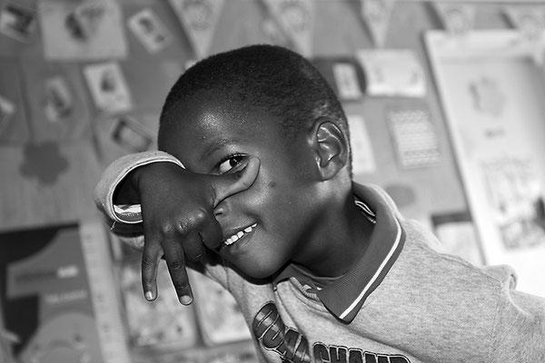Enfant Bushman - Namibie