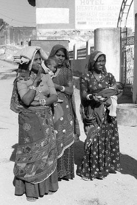 Femmes nomades - Désert du Thar - Inde