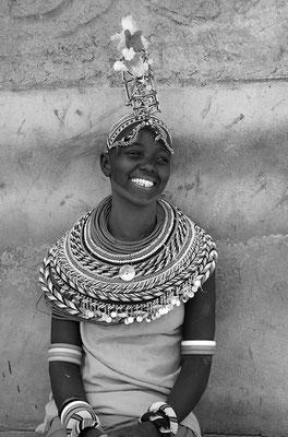 Danseuse Samburu - Kenya