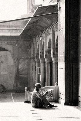 Prière dans la mosquée - Inde