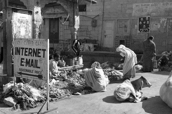 Marché du Rajasthan - Inde
