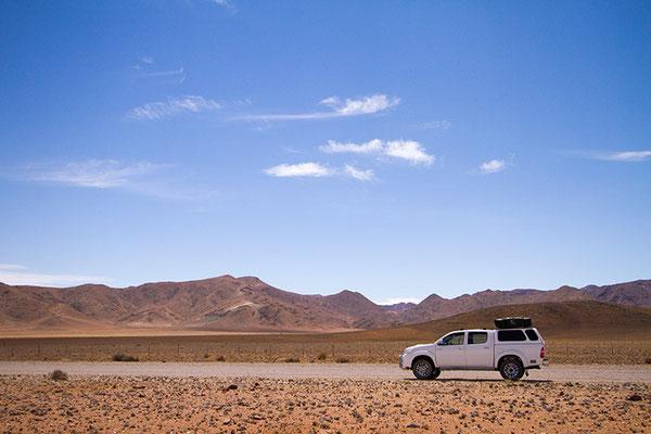 3900 km en Namibie à la poursuite du ET du désert...