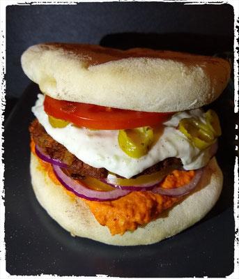 Adana Kebap Burger