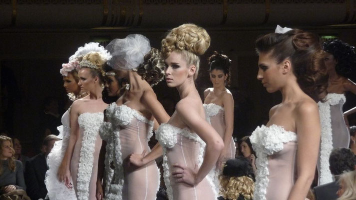 Couture Bridal Hair Designs by Elie Esper