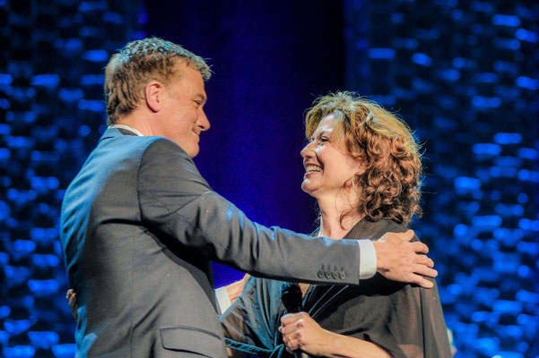Michael W. Smith, Amy Grant Photo by: Gretchen Demonbreun