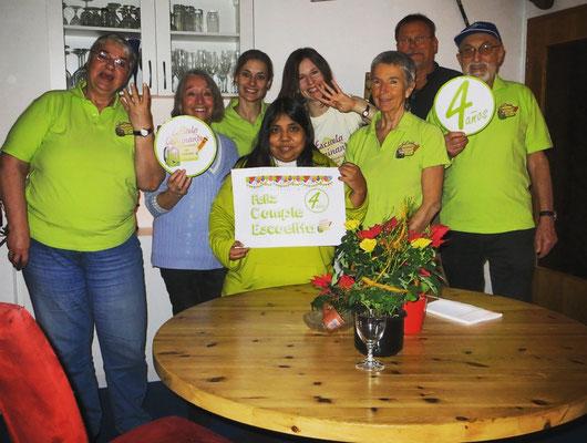 """Auch in Deutschland feiern wir 4 Jahre Escuela Caminante und wünschen """"Feliz anniversario""""!"""