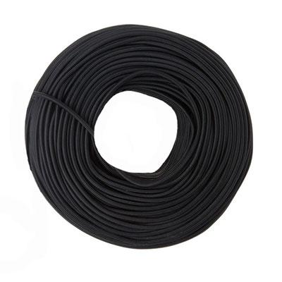 Textilkabel - schwarz