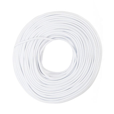 Textilkabel - weiß
