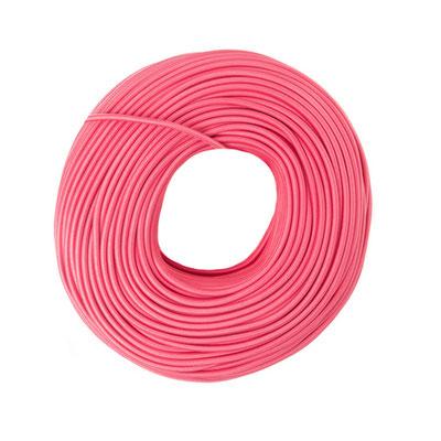 Textilkabel - rosa