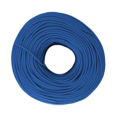 Textilkabel - jeansblau