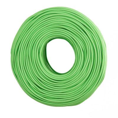 Textilkabel - apfelgrün