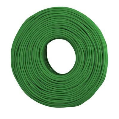 Textilkabel - tannengrün
