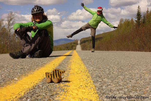 Hoch und Runter auf dem Taylor Highway