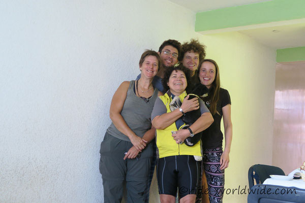 Mit Ariel, Anna und Sandra