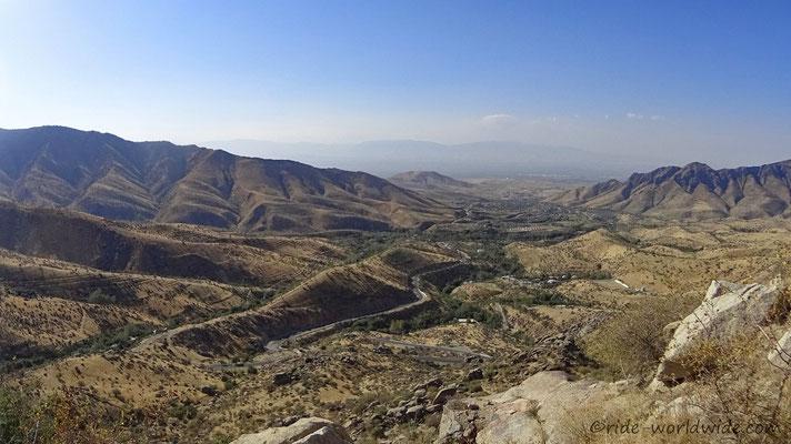 Super Ausblick nach Samarkand