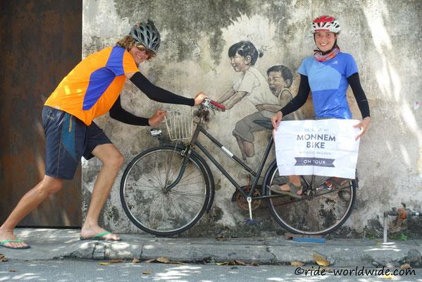 Street - Art George Town - Malaysia