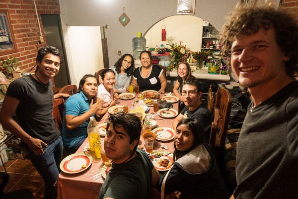 Zu Gast bei Melisas Familie