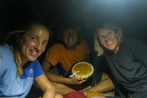 Thanksgiving, ohne Truthahn dafür mit traditionellem Kürbiskuchen