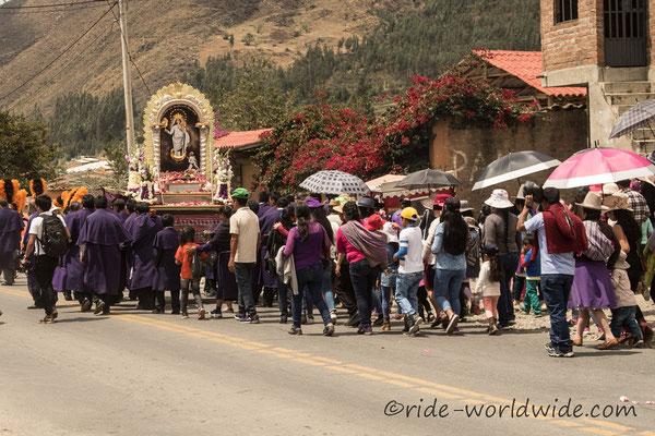 Kein Tag ohne eine Prozession