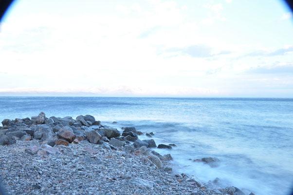Der Abend vor dem Sturm an der kroatischen Küste