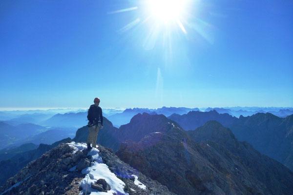 Jubiläumsgrat Klettersteigset : Jubiläumsgrat bergführer tobias stampfl