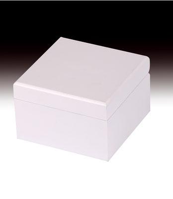 Caja regalo blanca para corbatas