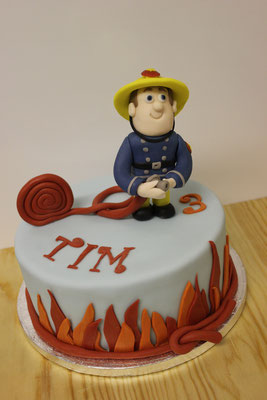 Motivtorte Feuerwehrmann Sam
