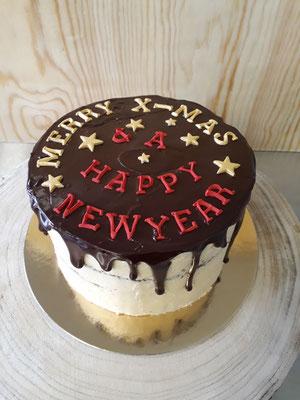 """Drip Cake """"Merry X-Mas"""""""