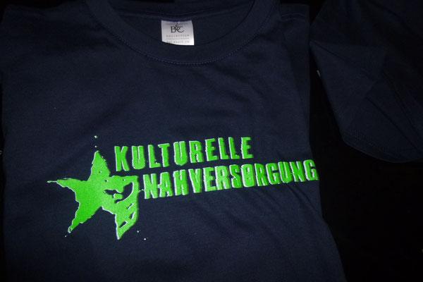"""T-Shirts """"Kulturelle Nahversorgung"""" Neon Grün"""