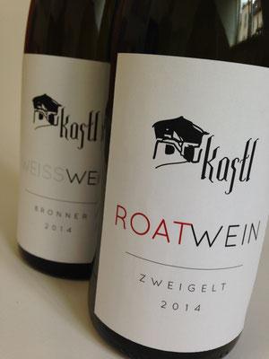 """Weinetiketten Design """"Kastl Wein"""""""
