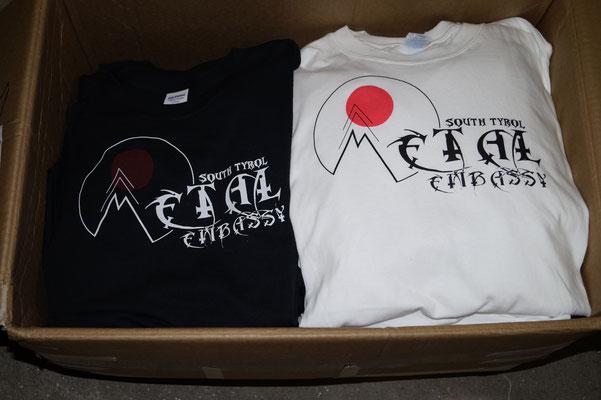 "T-Shirts für die ""Metal Embassy South Tyrol"""
