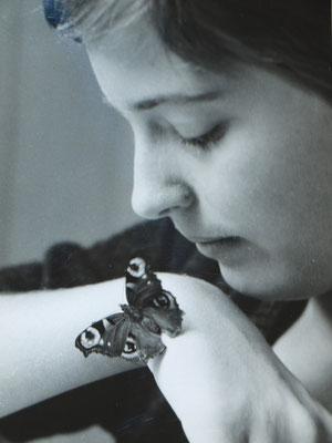 Maja, keine Biene. Sie hat ihr Haustierdasein nicht überlebt.
