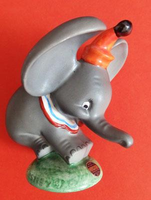 Dumbo, der fliegende Elefant (Disney), W. Goebel-Keramik