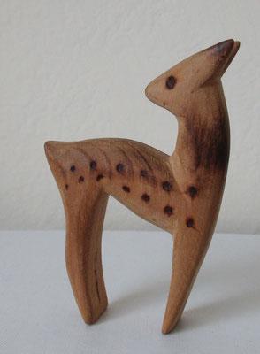 seltenes Holz-Reh von Walter BOSSE