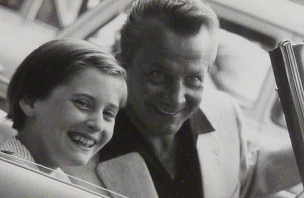 meine erste große Liebe - bei den Salzburger Festspielen, 1956