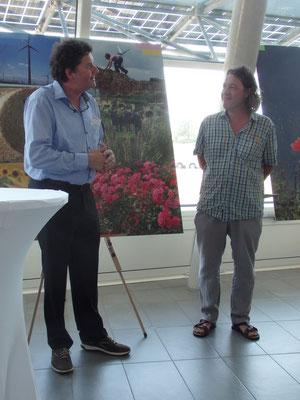 Martin Steininger und Herbert Marko