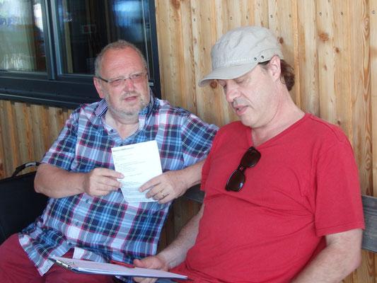 Rudi Weiß und Herbert Marko