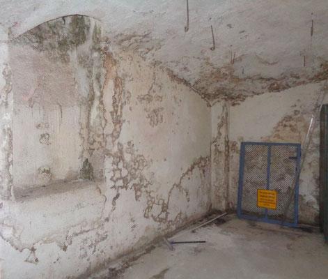 Kellersanierung  vorher