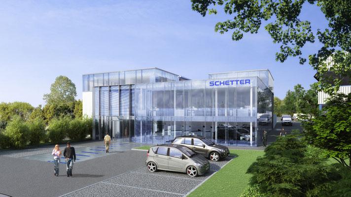 Verwaltungsbau Firma Schetter - map architekten