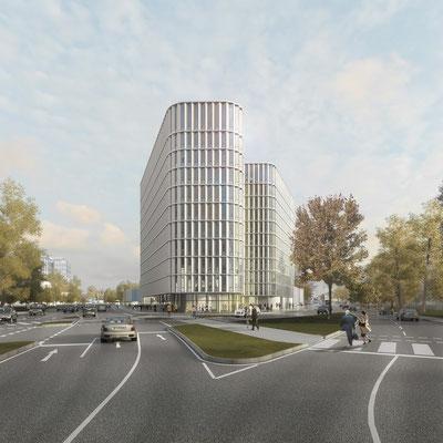 WB Alstergate, Hamburg 1.Preis - gmp architekten