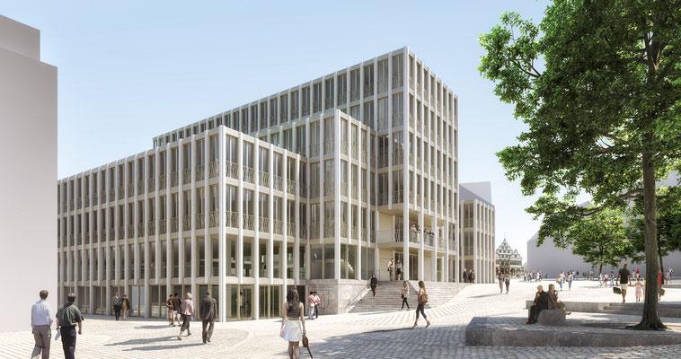 WB Rathaus Paderborn 1.Preis - bbl architekten