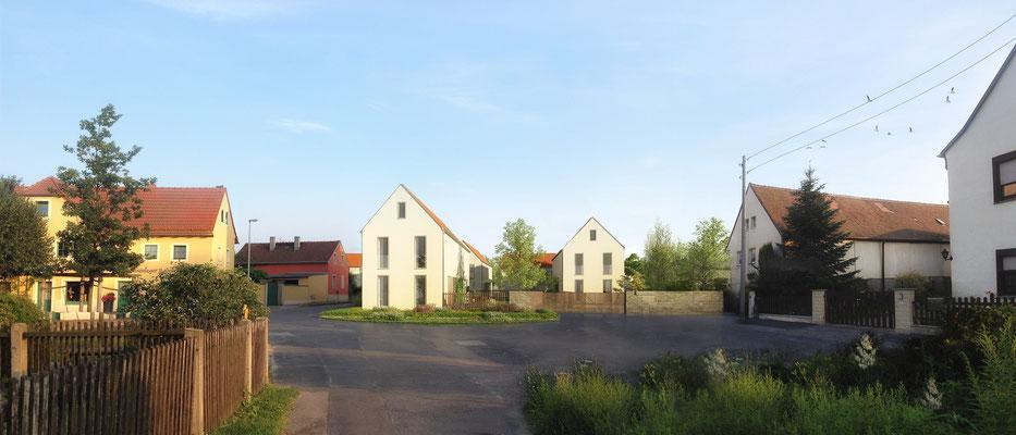 Wohnhäuser Ortsmitte Radebeul