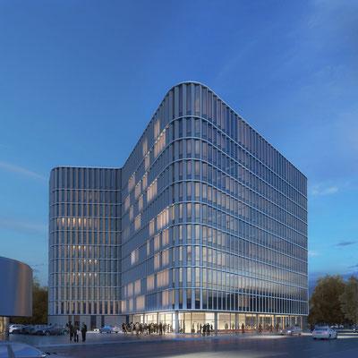 Alstergate, Hamburg  1.Preis - gmp architekten