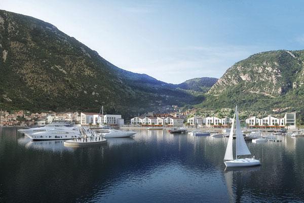 Projekt Resort Kotor, Montenegro - gmp architekten