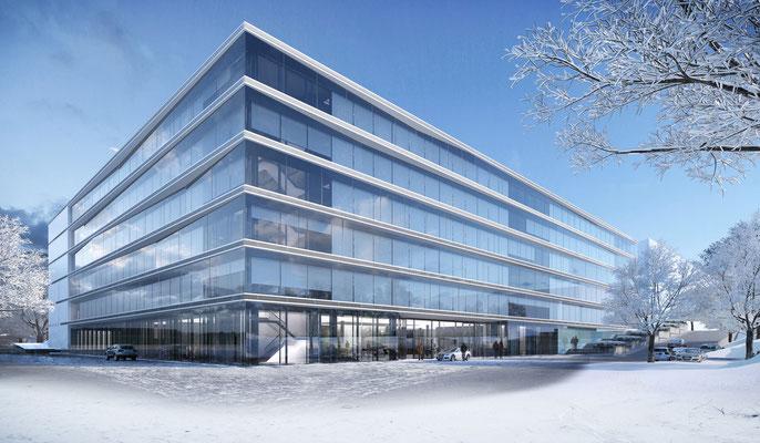 Fassadenstudie - gmp architekten